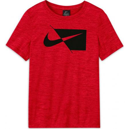 Nike DRY HBR SS TOP B - Chlapecké tréninkové tričko