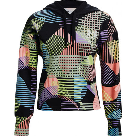 Under Armour RIVAL TERRY GEO PRINT HOODIE