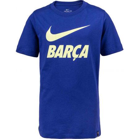 Nike FC BARCELONA TEE JNR