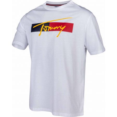 Pánské tričko - Tommy Hilfiger DROP SHOULDER TEE - 2