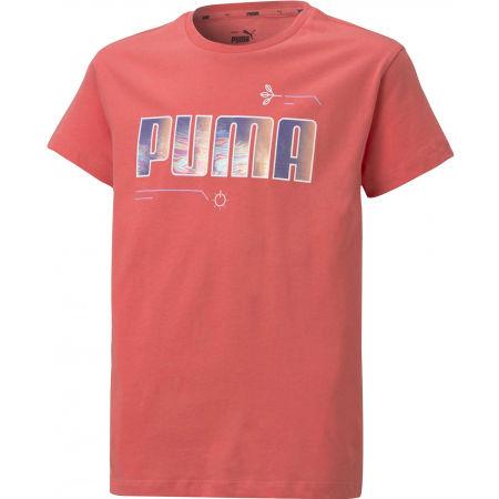 Puma ALPHA TEE G - Dívčí triko