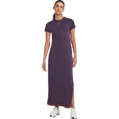 Nike NSW ICN CLSH MAXI DRESS W - Dámské šaty