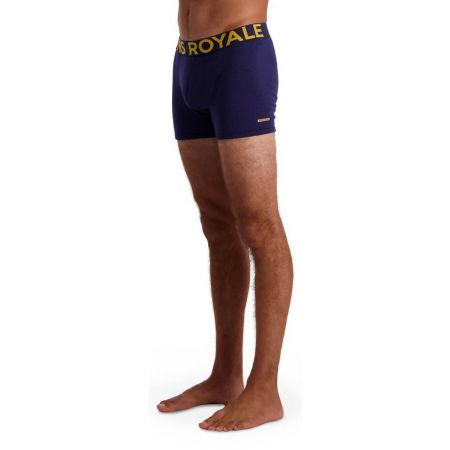 MONS ROYALE HOLD'EM SHORTY - Pánské boxerky z merino vlny