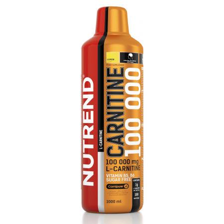 Nutrend CARNITINE 100000 1L CITRON - Karnitinový doplněk