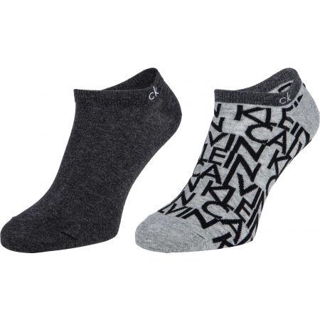 Calvin Klein MEN LINER 2P CALVIN KLEIN DEANGELO - Pánské ponožky
