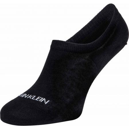 Dámské ponožky - Calvin Klein WOMEN LINER 2P SPARKLE STRIPE ALICE - 2
