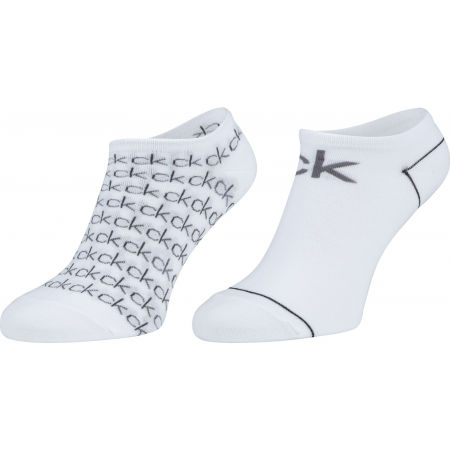 Calvin Klein 2PK REPEAT LOGO - Dámské ponožky