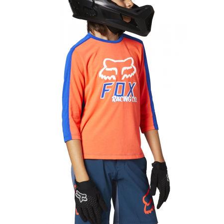 Fox RANGER DR 3/4 YTH - Dětský dres s 3/4 rukávy