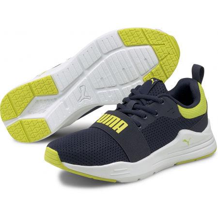 Puma WIRED JR - Chlapecké volnočasové boty