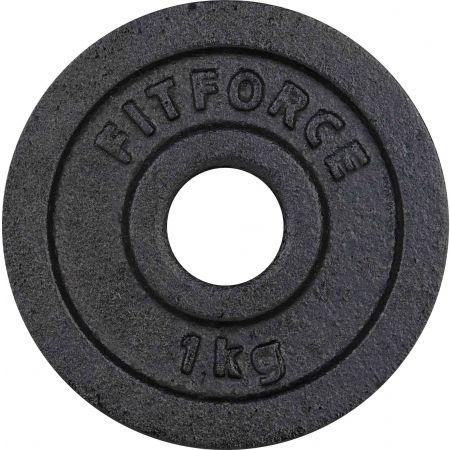 Fitforce PLB 1KG 30MM - Nakládací kotouč