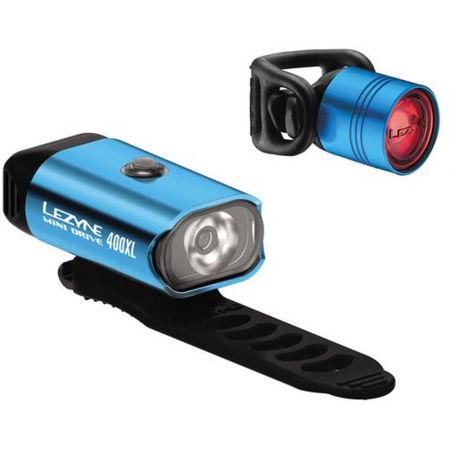 Lezyne MINI DRIVE 400 / FEMTO DRIVE PAIR - Set světel