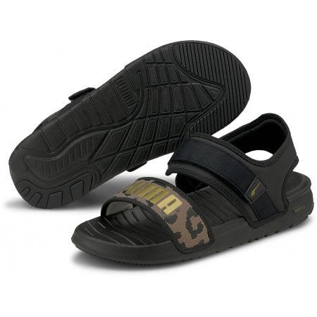 Puma SOFTRIDE SANDAL WNS LEO - Dámské sandály