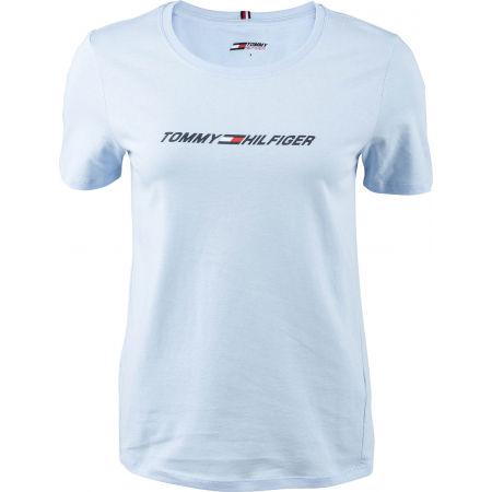 Tommy Hilfiger REGULAR C-NK GRAPHIC TEE SS - Dámské tričko