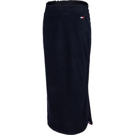 Tommy Hilfiger REGULAR TAPE MIDI LONG SKIRT - Dámská sukně