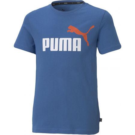 Puma ESS + 2 COL LOGO TEE - Chlapecké triko