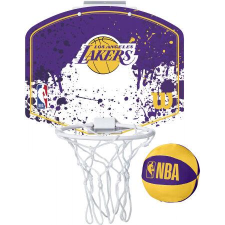 Wilson NBA MINI HOOP LAKERS - Mini basketbalový koš