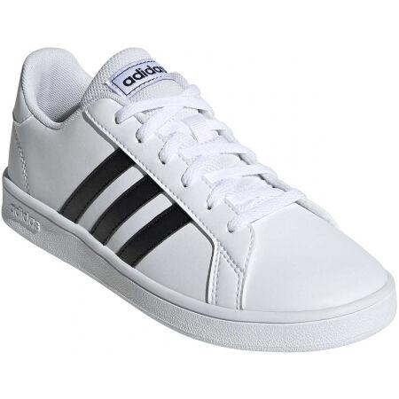 adidas GRAND COURT K - Dětská volnočasová obuv