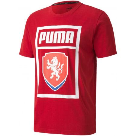 Puma FACR PUMA DNA TEE - Pánské fotbalové triko