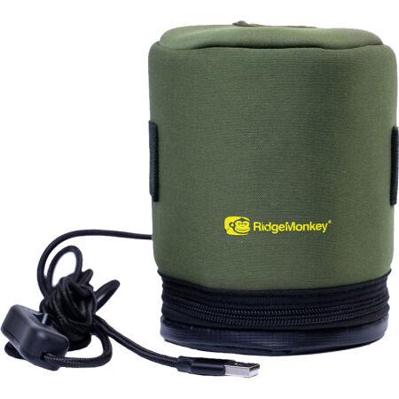 RIDGEMONKEY ECOPOWER USB HEATED GAS CANISTER COVER - Vyhřívaný obal na plynovou kartuši