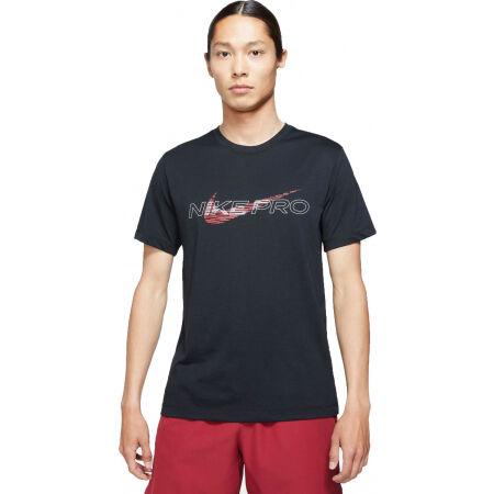 Nike DF TEE DB NK PRO M - Pánské tréninkové tričko