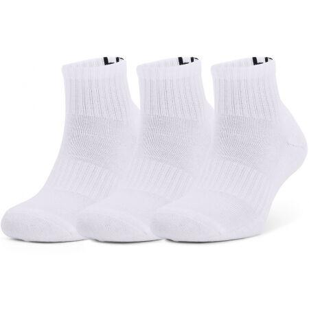 Under Armour UA CORE QTR 3PK - Ponožky