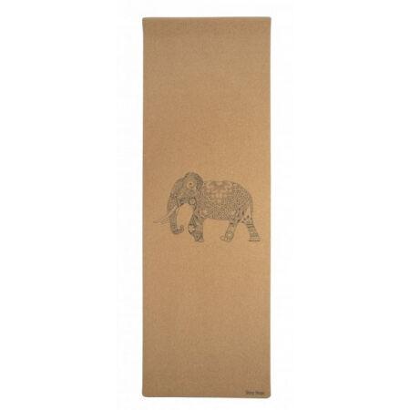 SHARP SHAPE CORK TRAVEL YOGA MAT ELEPHANT