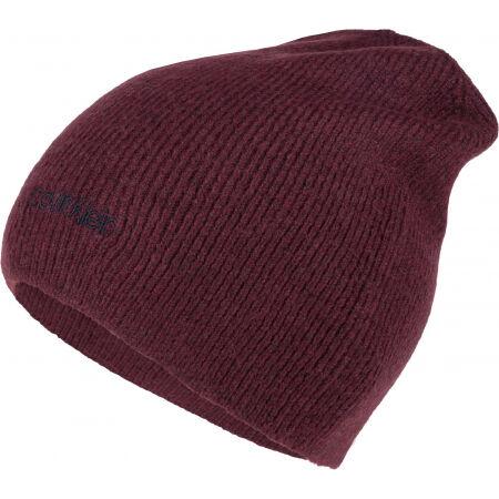 Calvin Klein BASIC WOOL NO FOLD BEANIE - Pánská zimní čepice