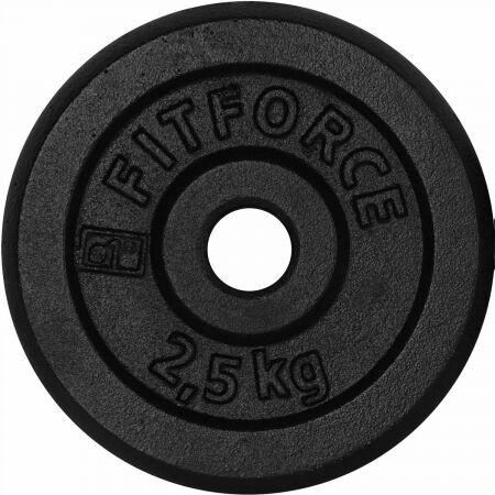 Nakládací kotouč - Fitforce PLB 2,5KG 25MM