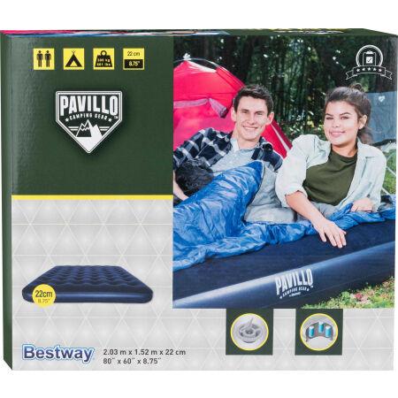 Nafukovací matrace - Bestway QUEEN FLOCKED MAT - 2