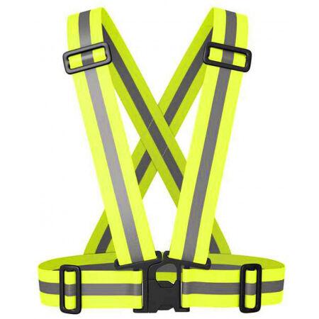 Runto X05 - Elastická sportovní reflexní vesta s nastavitelnými popruhy