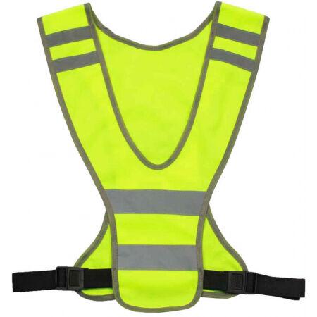 Runto Y16 - Sportovní reflexní vesta s nastavitelnými popruhy