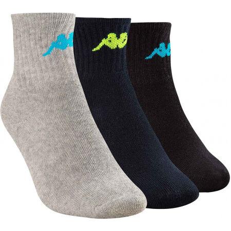 Kappa TRI 3PACK - Dětské ponožky