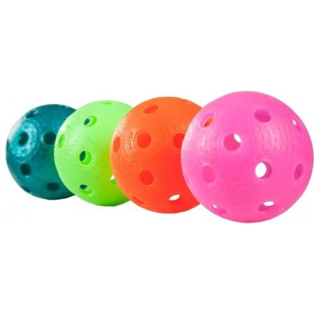 Sada florbalových míčků - Oxdog ROTOR COLOR TUBE 4 KS - 3