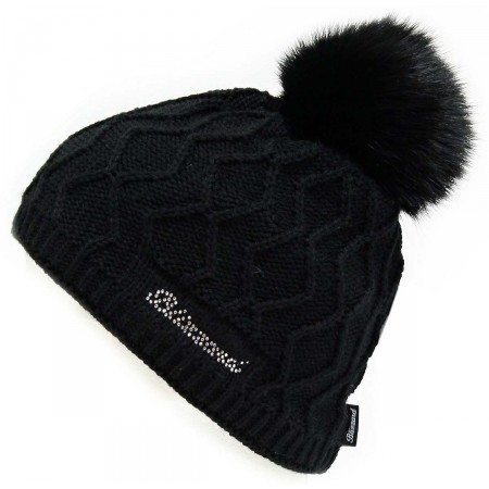 Blizzard RABBIT BLACK CAP W - Dámská čepice