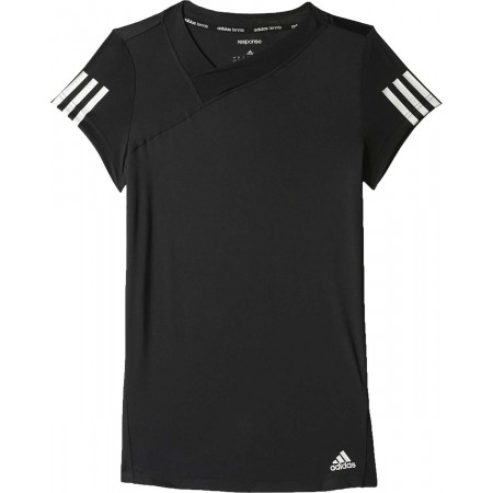 Dámské tenisové tričko - adidas RESPONSE TEE - 1