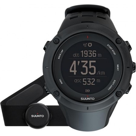 Sportovní hodinky s GPS - Suunto AMBIT3 PEAK BLACK HR - 3