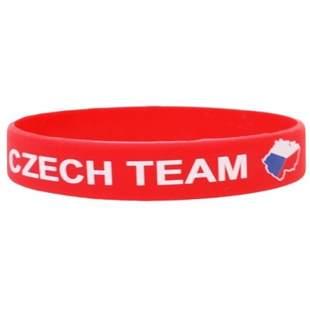 SPORT TEAM SILIKONOVÝ NÁRAMEK ČR 3 - Silikonový náramek