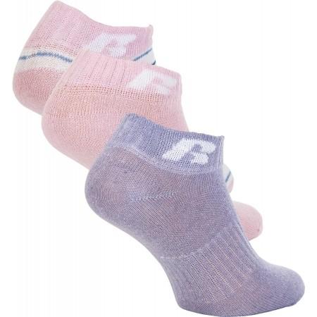 Dětské ponožky - Russell Athletic KIDS ANKLE SOCK 3 PÁRY - 1