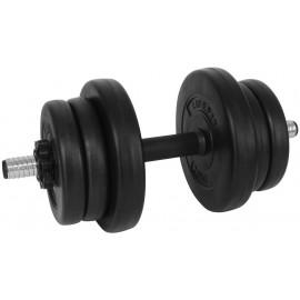SPORT TEAM VINYL SET 10kg - Jednoruční činka