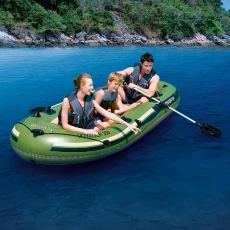Nafukovací člun - Bestway VOYAGER 500 - 2
