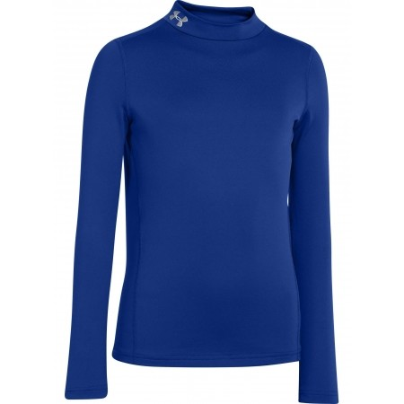 Chlapecké triko - Under Armour CG EVO FITTED LS MOCK - 1