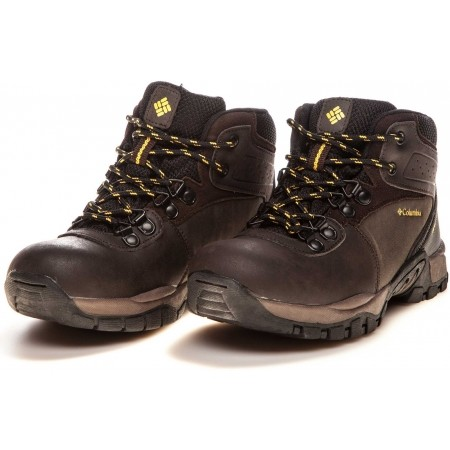 Dětská zimní obuv - Columbia YOUTH NEWTON RIDGE II - 7