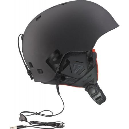 Lyžařská helma - Salomon BRIGADE AUDIO