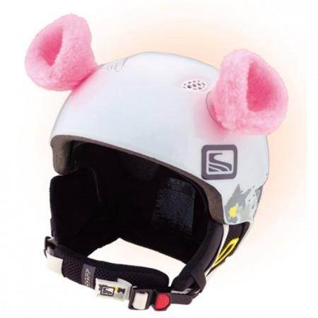Uši na helmu - Crazy Ears RŮŽOVÁ