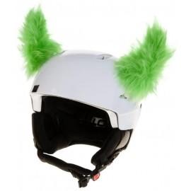 Crazy Ears ROH ZELENÝ - Uši na helmu