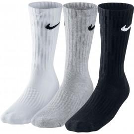 Nike 3PPK VALUE COTTON CREW - Sportovní ponožky