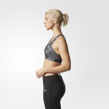 Dámská podprsenka - adidas TECHFIT BRA HEATHER PRINT - 6