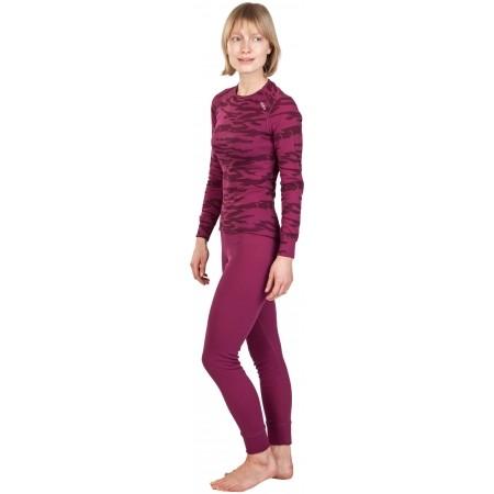 Dámské funkční kalhoty - Odlo SUW WOMEN'S BOTTOM ORIGINALS WARM XMAS - 4