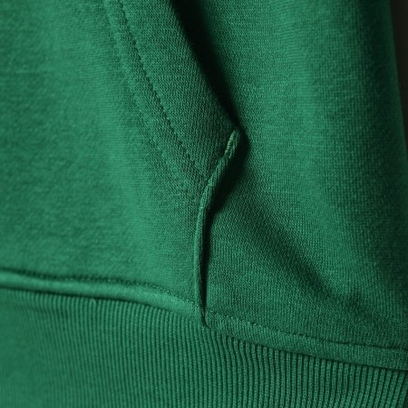Pánská mikina - adidas BASICS PO HOODY CELTICS - 7