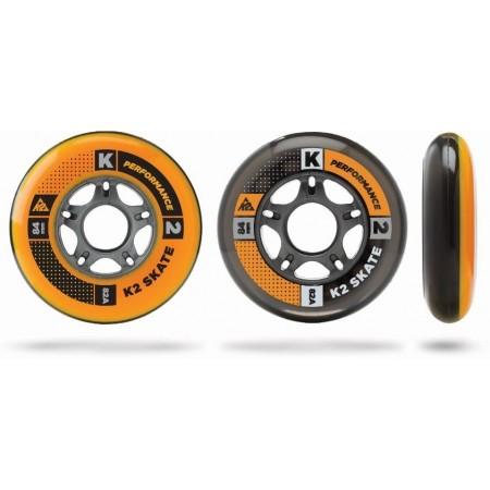 Sada in-line ložisek a koleček - K2 WHEEL 8-PACK 84-82A + ILQ7 SPACER